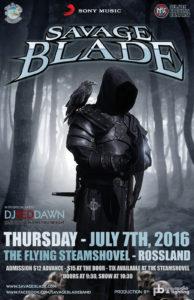 Savage Blade - Flying Steamshovel July 7